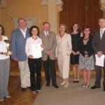 Wspólne zdjęcie z reprezentacją Zespołu Szkół nr 2 w Bochni