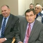 Na fot. od lewej: dr hab. Piotr Przybyłowski oraz prof. Władysław Sułowicz