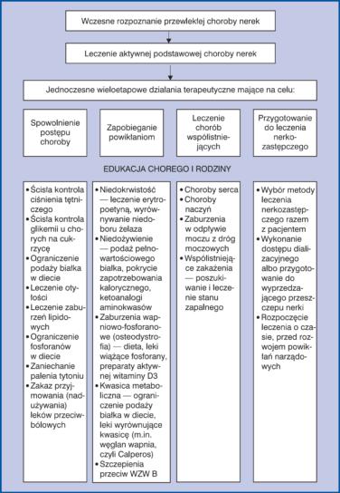 Algorytm postępowania leczniczego u pacjentów z przewlekłą chorobą nerek